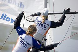 08_00997 © Sander van der Borch. Medemblik - The Netherlands,  May 21th 2008 . First day of the Delta Lloyd Regatta 2008.