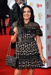 Scarlett Moffatt arriving for the Virgin TV British Academy Television Awards 2017 held at Festival Hall at Southbank Centre, London.