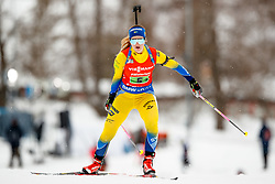 March 16, 2019 - –Stersund, Sweden - 190316 Mona Brorsson of Sweden 0competes in the Women's 4x6 km Relay during the IBU World Championships Biathlon on March 16, 2019 in Östersund..Photo: Johan Axelsson / BILDBYRÃ…N / Cop 245 (Credit Image: © Johan Axelsson/Bildbyran via ZUMA Press)
