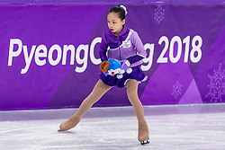 PYEONGCHANG-GUN, SOUTH KOREA - FEBRUARY 20:  Figure Skating Ice Dance Free Dance on day eleven of the PyeongChang 2018 Winter Olympic Games at Gangneung Ice Arena on February 20, 2018 in Gangneung, South Korea. Photo by Ronald Hoogendoorn / Sportida
