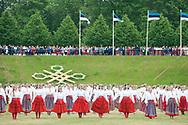 12th Youth Song and Dance Celebration, Tallinn, Estonia. Dance Celebration, evening performance in Kalev stadium (1 July 2017)  © Rudolf Abraham
