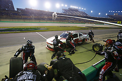 July 13, 2018 - Sparta, Kentucky, United States of America - John Hunter Nemechek (42) brings his car down pit road for service during the Alsco 300 at Kentucky Speedway in Sparta, Kentucky. (Credit Image: © Chris Owens Asp Inc/ASP via ZUMA Wire)