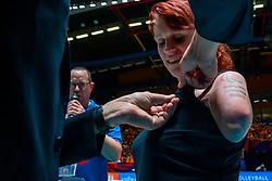 29-05-2019 NED: Volleyball Nations League Netherlands - Bulgaria, Apeldoorn<br /> Karin van der Haar