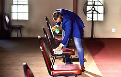South Africa - Pretoria - Member of The Apostolic Faith Mission of South Africa church follow safety regulations of the lockdown level 3 after places of worship have been allowed to open.<br /> <br /> <br /> Picture: Thobile Mathonsi/African News Agency/ANA