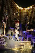 The Pirate Show at the Treasure Island Hotel and Casion, Las Vegas Strip, Nevada.
