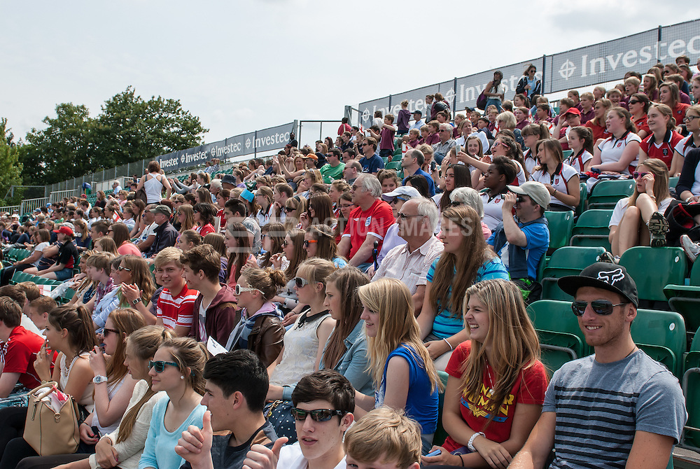 Photos from in and around the Quintin Hogg Memorial Sports Ground, University of Westminster during the Investec Hockey World League Semi Final 2013, London, UK on 27 June 2013. Photo: Simon Parker