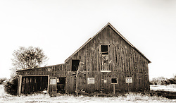 An Old New Melle, Missouri Barn