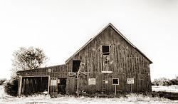An Old New Melle, Missouri Barn