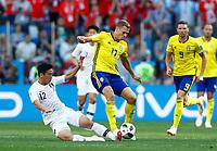 Kim Minwoo (Korea Republic) and Viktor Claesson (Sweden)<br /> Nizhny Novgorod 16-06-2018 Football FIFA World Cup Russia  2018 <br /> Sweden - South Korea / Svezia - Corea del Sud <br /> Foto Matteo Ciambelli/Insidefoto