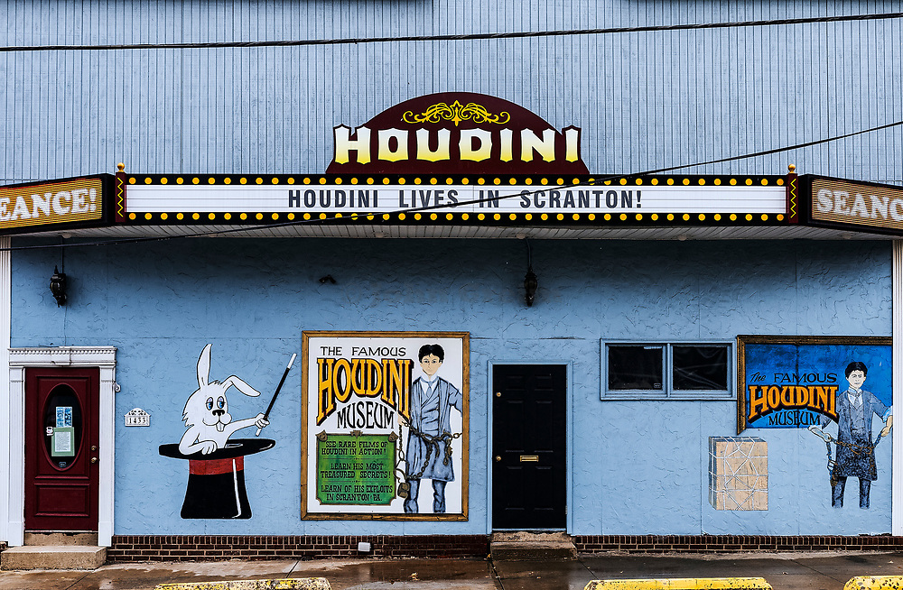 Houdini Museum Scranton, Pennsylvania, USA