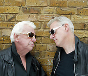 BARRY CRIER AND RONNIE GOLDEN FOR COVER OF FESTIVAL SPECIAL.PIC GRAHAM JEPSON