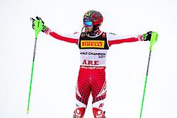 THEMENBILD - Skistar Marcel Hirscher gibt am 4. September seine Zukunftspläne in Salzburg bekannt. Seit seinem ersten Weltcupsieg 2009 in Val d'Isere gewann er den Gesamtweltcup siebenmal in Folge und steht derzeit bei insgesamt 68 Siegen. Damit zählt er zu den erfolgreichsten Skirennläufern der Geschichte. Hier im Bild: Weltmeister und Goldmedaillengewinner Marcel Hirscher (AUT) bei der Alpinen Ski WM in Aare 2019 // Ski star Marcel Hirscher announces his plans for the future in Salzburg on 4 September. Since winning his first World Cup victory in Val d'Isere in 2009, he has won the overall World Cup seven times in a row and currently has a total of 68 victories. He is one of the most successful ski racers in history. Here in the picture: World champion and gold medalist Marcel Hirscher of Austria at the FIS Alpin Ski World Championship 2019 in Aare, Sweden. EXPA Pictures © 2019, PhotoCredit: EXPA/ Johann Groder