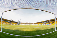 Clear sky and bright sunshine ahead of the Ladbrokes Scottish Premiership match between Livingston and St Mirren at Tony Macaroni Arena, Livingstone, Scotland on 20 April 2019.