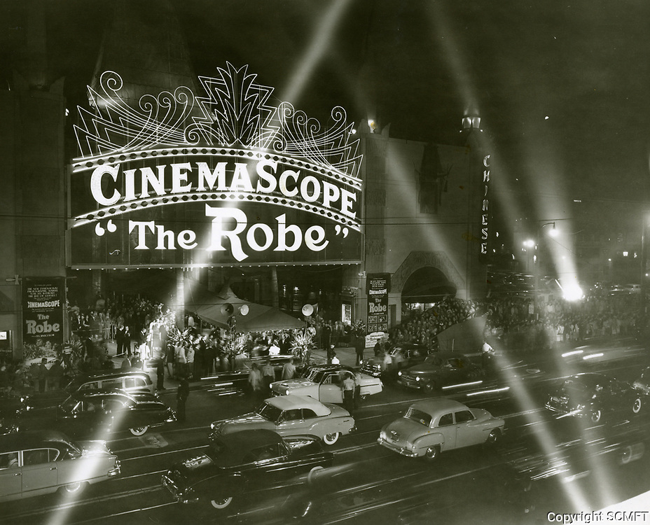 1953 Premiere of The Robe at Grauman's Chinese Theater