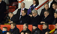 03/02/16 LADBROKES PREMIERSHIP<br /> ABERDEEN v CELTIC<br /> PITTODRIE - ABERDEEN<br /> Celtic Chief Executive Peter Lawwell (left)