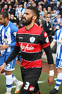 Queens Park Rangers Armand Traore. Skybet football league championship play off semi final, 1st leg match, Wigan Athletic v QPR at the DW Stadium in Wigan, England on Friday 9th May 2014.<br /> pic by Chris Stading, Andrew Orchard sports photography.