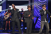 October 13, 2012- Bronx, NY: (L-R) Recording Artists Luke James, Anthony Hamilton and Eric Benet perform at the Black Girls Rock! Awards presented by BET Networks and sponsored by Chevy held at the Paradise Theater on October 13, 2012 in the Bronx, New York. BLACK GIRLS ROCK! Inc. is 501(c)3 non-profit youth empowerment and mentoring organization founded by DJ Beverly Bond, established to promote the arts for young women of color, as well as to encourage dialogue and analysis of the ways women of color are portrayed in the media. (Terrence Jennings)