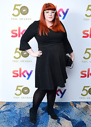 Jenny Ryan attending the TRIC Awards 2019 50th Birthday Celebration held at the Grosvenor House Hotel, London.