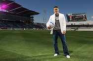 27 APR 2007:  Portraits of Herculez Gomez of the Colorado Rapids soccer team for an advertisement page in Sports Illustrated Latina shot at Dick's Sporting Goods Park in Commerce City, CO Brett Wilhelm/Rich Clarkson and Associates, LLC