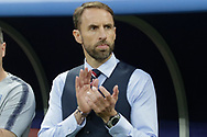 England head coach Gareth Southgate before the 2018 FIFA World Cup Russia, semi-final football match between Croatia and England on July 11, 2018 at Luzhniki Stadium in Moscow, Russia - Photo Thiago Bernardes / FramePhoto / ProSportsImages / DPPI