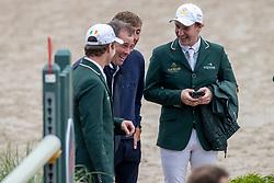Team Ireland, O'Connor Cian, Allen Harry, Mc Mahon Eoin<br /> CHIO Rotterdam 2021<br /> © Dirk Caremans<br />  02/07/2021