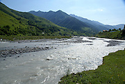 Georgia, Aragvi river valley