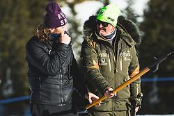 Robert Mastnak during parallel giant slalom FIS Snowboard Alpine world championships 2021 on 1st of March 2021 on Rogla, Slovenia, Slovenia. Photo by Grega Valancic / Sportida