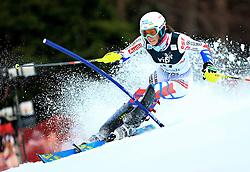04.01.2013, Crveni Spust, Zagreb, AUT, FIS Ski Alpin Weltcup, Slalom, Damen, 1. Lauf, im Bild Nastasia Noens (FRA) // Nastasia Noens of France in action // during 1st Run of the ladies Slalom of the FIS ski alpine world cup at Crveni Spust course in Zagreb, Croatia on 2013/01/04. EXPA Pictures © 2013, PhotoCredit: EXPA/ Pixsell/ Slavko Midzor..***** ATTENTION - for AUT, SLO, SUI, ITA, FRA only *****