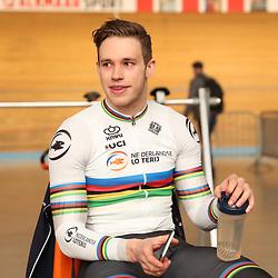 19-02-2020: Wielrennen: persmoment KNWU: Alkmaar Harry Laverijsen