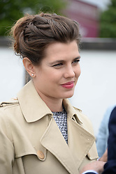 CHARLOTTE CASIRAGHI at the 2013 Cartier Queens Cup Polo at Guards Polo Club, Berkshire on 16th June 2013.