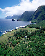 Siloama Church, Kalaupapa, Molokai, Hawaii, USA<br />