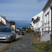 Posebyen i Kristiansand om sommeren.