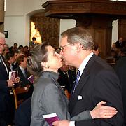 Mattheus Passion 2002 Naarden, Rita Roukema kust met Klaas de Vries