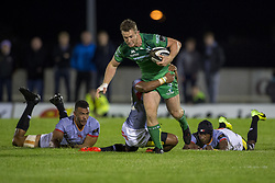 September 9, 2017 - Galway, Ireland - Matt Healy of Connacht runs with the ball during the Guinness PRO14 rugby match between Connacht Rugby and Southern Kings at the Sportsground in Galway, Ireland on September 9, 2017  (Credit Image: © Andrew Surma/NurPhoto via ZUMA Press)