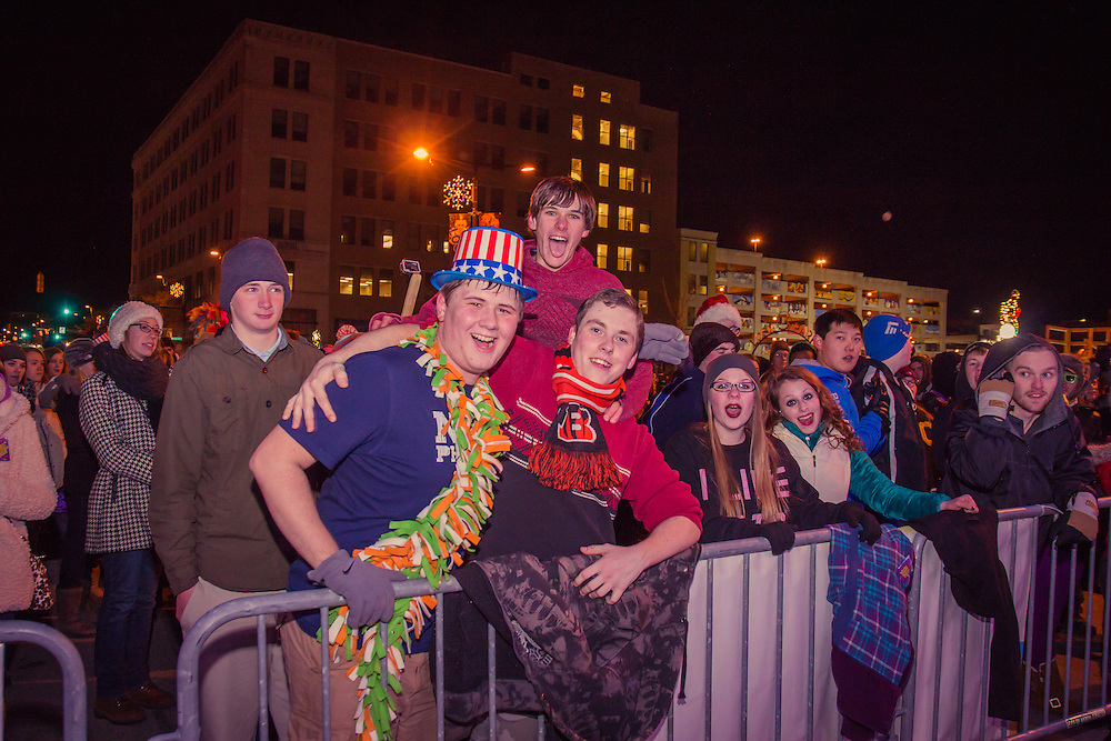 New Year's Eve revelers at First Night Akron 2015