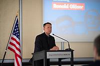 DEU, Deutschland, Germany, Berlin, 12.06.2017: Ronald Gläser bei der Konferenz der Partei Alternative für Deutschland (AfD) im Berliner Abgeordnetenhaus: Amerika und Wir, 30. Jahrestag der Tear down this Wall Rede von Ronald Reagan.