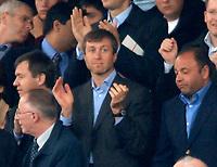 Photo: Glyn Thomas.<br />Chelsea v Liverpool. The FA Cup, Semi-Final. 22/04/2006.<br />Chelsea's owner Roman Abramovich.