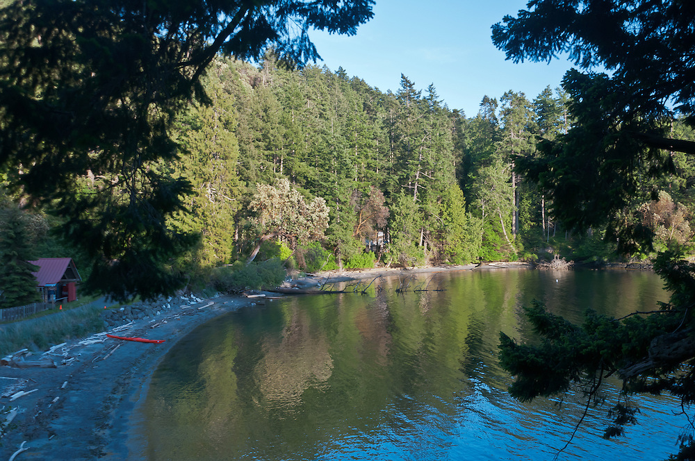Smallpox Bay, San Juan County Park, San Juan Island, Washington. Photo by William Byrne Drumm.