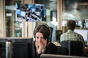 Brussel, Belgie, 6 juni 2013, Hautekiet op Radio 1, programma VRT. PHOTO © Christophe Vander Eecken