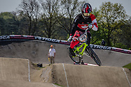 #49 (NYHAUG Tory) CAN at the 2016 UCI BMX Supercross World Cup in Papendal, The Netherlands.