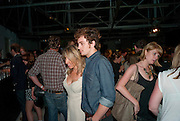 AARON JOHNSON; SAM TAYLOR-WOOD,  Nokia and Daid Bailey celebrate London ' Alive at Night' to launch Nokia N86. the Old Dairy, 6 Wakefield st. London. WC1. 26 August 2009.