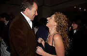 Lord Bruce Dundas and Kelly Hoppen, Party to celebrate the publication of Kelly Hoppen's Style Book.  50 Cheyne Walk. London. 10 November 2004. ONE TIME USE ONLY - DO NOT ARCHIVE  © Copyright Photograph by Dafydd Jones 66 Stockwell Park Rd. London SW9 0DA Tel 020 7733 0108 www.dafjones.com