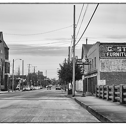 While most of the old buildings in  downtown Wilmington have been remodeled into B&Bs, galleries or upscale shops and homes, north 4th street hasn't changed all that much.