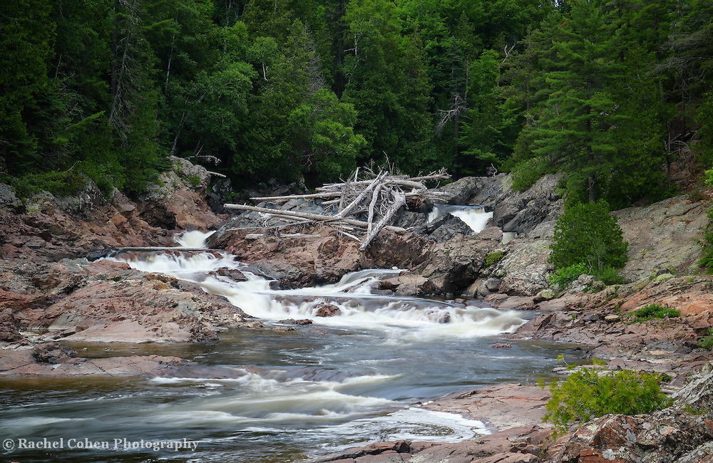 """""""Chippewa Falls and River""""<br /> <br /> Scenic Chippewa Falls during summertime in Ontario, Canada!"""
