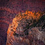 Sunset at Hopi Point-Grand Canyon National Park