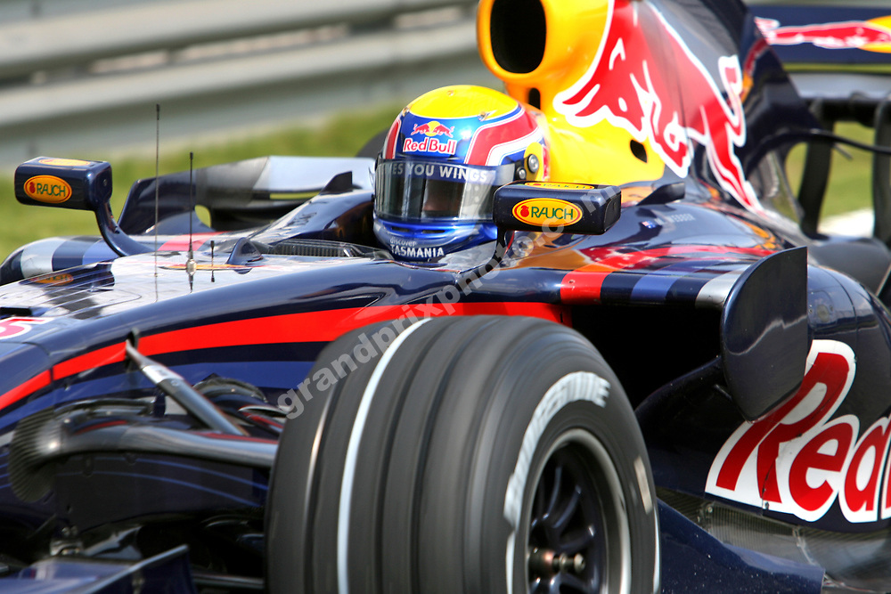 Mark Webber (Red Bull-Renault) during practice before the 2007 Chinese Grand Prix in Shanghai. Photo: Grand Prix Photo