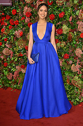 © Licensed to London News Pictures. 18/11/2018. London, UK. Christine Allado attends the 64th Evening Standard Theatre Awards held at the Theatre Royal, Dury Lane. Photo credit: Ray Tang/LNP