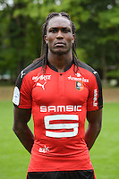 Habib Habibou of Rennes during the presentation of the Stade Rennais Team on September 12, 2016 in Rennes, France. (Photo by Andre Ferreira/Icon Sport)