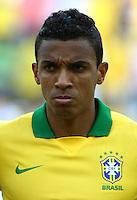 "Football Fifa Brazil 2014 World Cup Matchs-Friendly / <br /> Brazil vs England 2-2  ( Jornalista Mario Filho - Maracana Stadium-Rio de Janeiro, Brazil )<br /> "" LUIZ GUSTAVO "" Dias of Brazil , Prior the Friendly match between Brazil and England"