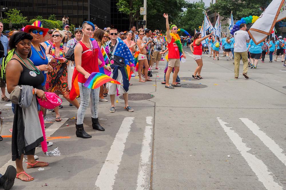 United States, Washington, Seattle Gay Pride Parade